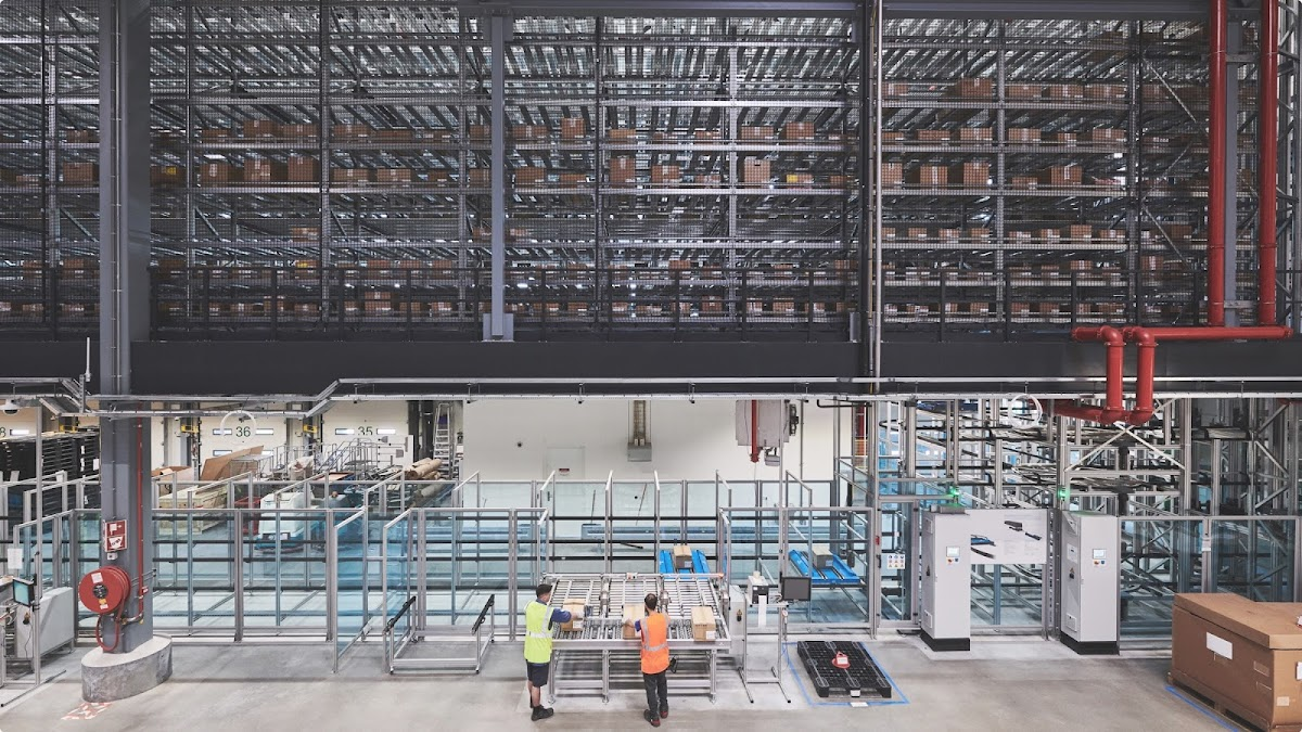 Inside one of Google's supply chain factories