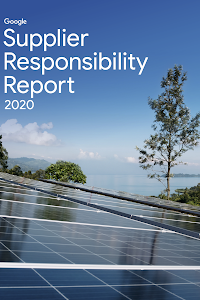 Report cover featuring a photo of solar panels