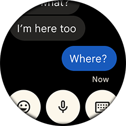 message chat ui screen